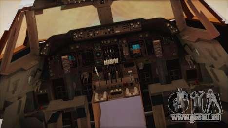 Boeing 747-237Bs Air India Krishna Deva Raya pour GTA San Andreas vue arrière