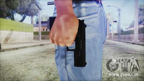 GTA 5 Combat Pistol v2 - Misterix 4 Weapons pour GTA San Andreas troisième écran