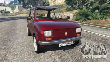 Fiat 126p v1.2 für GTA 5