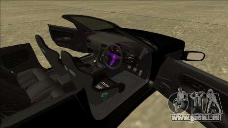 Nissan Silvia S13 pour GTA San Andreas vue arrière