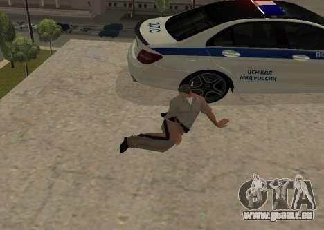 New Animations pour GTA San Andreas deuxième écran