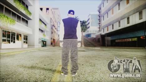 GTA Online Skin (DLC Lowriders) pour GTA San Andreas troisième écran