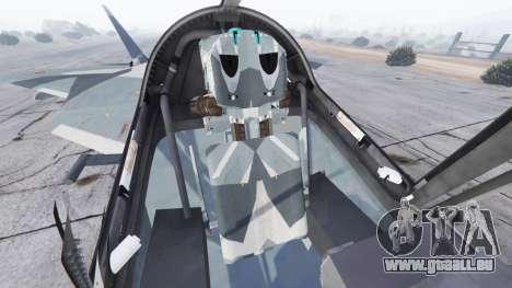 GTA 5 T-50 PAK FA v0.02 sechster Screenshot