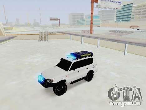 Toyota Land Cruiser Prado off-road LED für GTA San Andreas