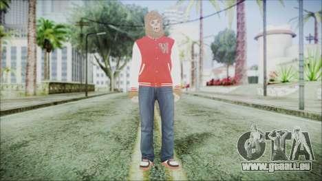 GTA Online Skin 34 pour GTA San Andreas deuxième écran