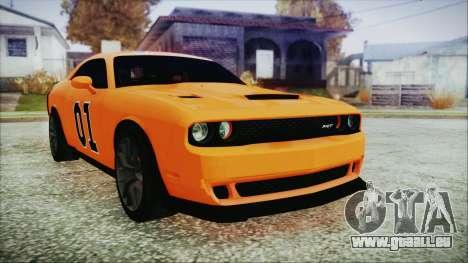 Dodge Challenger SRT 2015 Hellcat General Lee für GTA San Andreas