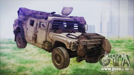 Humvee from Spec Ops The Line für GTA San Andreas