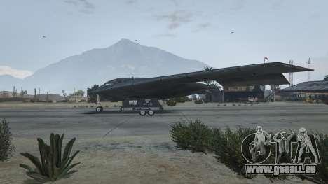GTA 5 B-2A Spirit Stealth Bomber troisième capture d'écran