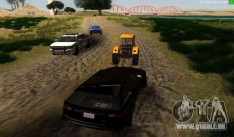 Il n'y a pas de meilleure façon pour GTA San Andreas troisième écran