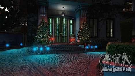 GTA 5 Décorations de noël pour la maison Michael deuxième capture d'écran