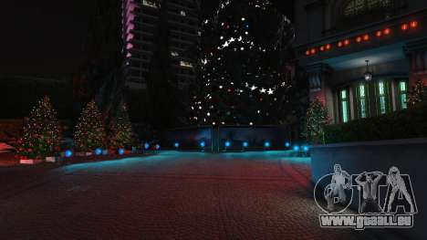 GTA 5 Weihnachten Dekorationen für Haus Michael dritten Screenshot