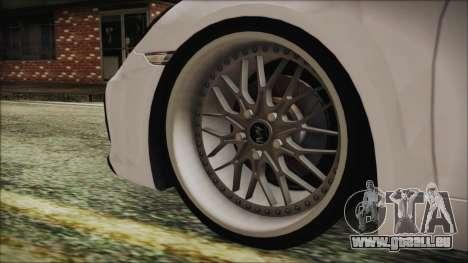 Porsche Boxster GTS 2016 für GTA San Andreas zurück linke Ansicht