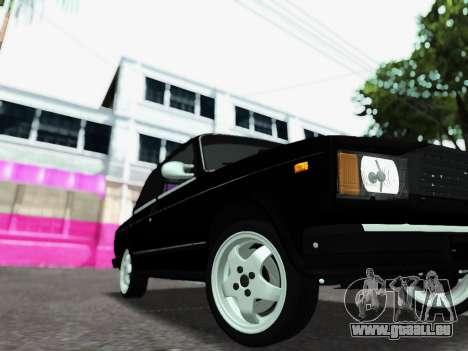 VAZ 2107-107 pour GTA San Andreas vue de droite