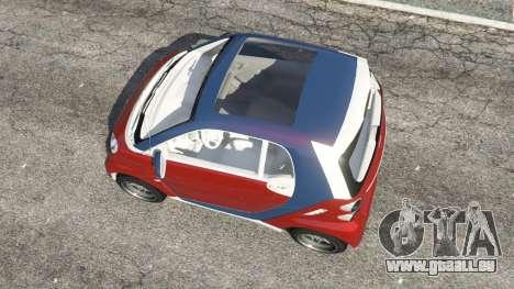 Smart ForTwo 2012 v0.1 pour GTA 5