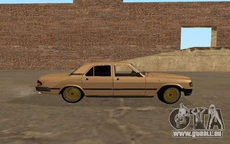 GAZ 3110 Volga für GTA San Andreas linke Ansicht