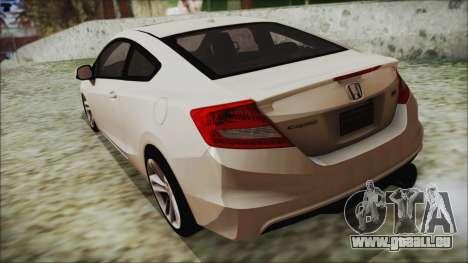 Honda Civic Si 2012 für GTA San Andreas linke Ansicht