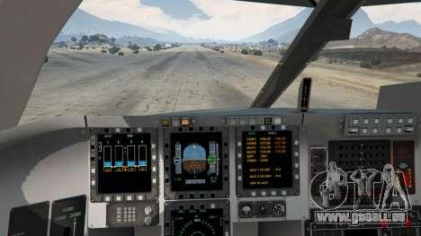 GTA 5 B-2A Spirit Stealth Bomber cinquième capture d'écran