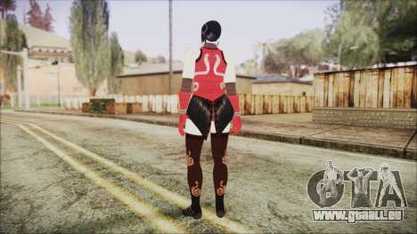 Tekken Tag Tournament 2 Zafina Dress v1 pour GTA San Andreas troisième écran