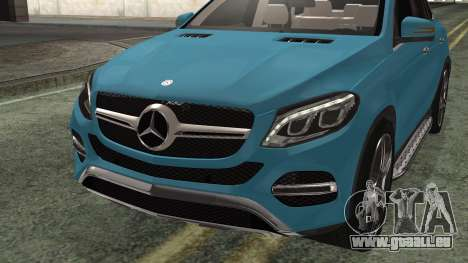 Mercedes-Benz GLE 450 AMG 2015 pour GTA San Andreas vue de droite