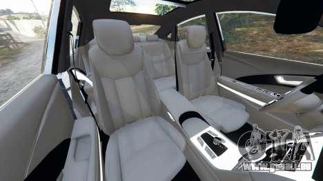 GTA 5 Hyundai Grandeur 2016 rechte Seitenansicht