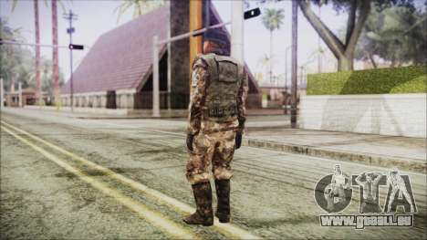 World In Conflict Orlovsky Winter für GTA San Andreas dritten Screenshot