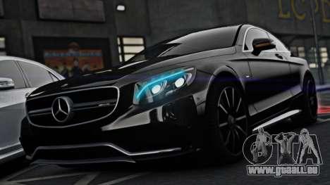 Mercedes-Benz S63 Coupe AMG 2015 pour GTA 4