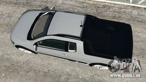 GTA 5 Volkswagen Saveiro G6 Cross vue arrière
