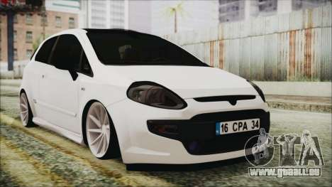 Fiat Punto pour GTA San Andreas