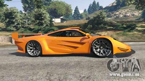 GTA 5 McLaren F1 GTR Longtail linke Seitenansicht
