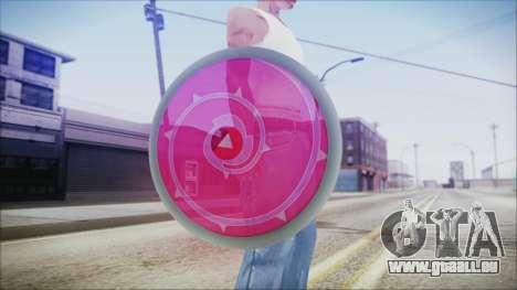 Steven Shield from Steven Universe pour GTA San Andreas troisième écran