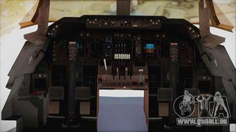 Boeing 747-128B Air France für GTA San Andreas Innenansicht