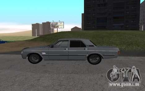 GAZ de 31029 Volga pour GTA San Andreas sur la vue arrière gauche