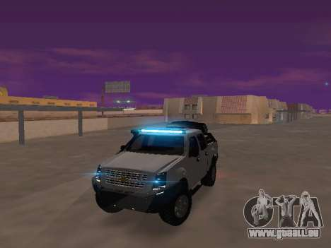 Chevrolet LUV D-MAX 2014 OffRoad (IVF) pour GTA San Andreas