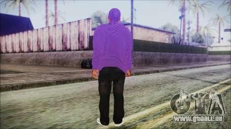 GTA 5 Ballas 2 pour GTA San Andreas troisième écran