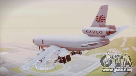 McDonnell-Douglas DC-10-30F World Airways pour GTA San Andreas laissé vue