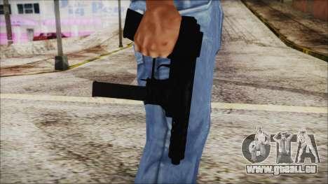 TEC-9 ACU für GTA San Andreas dritten Screenshot