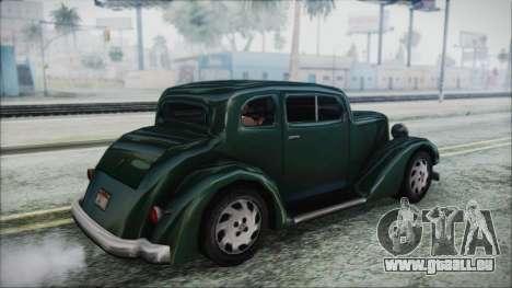 Hustler Beta für GTA San Andreas linke Ansicht
