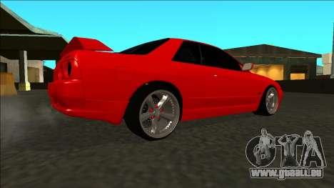 Nissan Skyline R32 Drift pour GTA San Andreas vue de droite