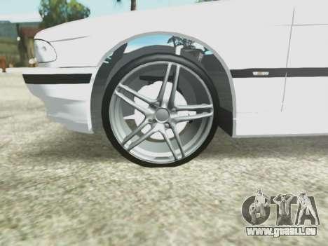 BMW 750i für GTA San Andreas Seitenansicht