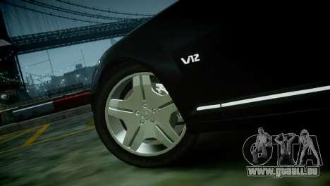 Mercedes-Benz S600 2011 pour GTA 4 est un droit