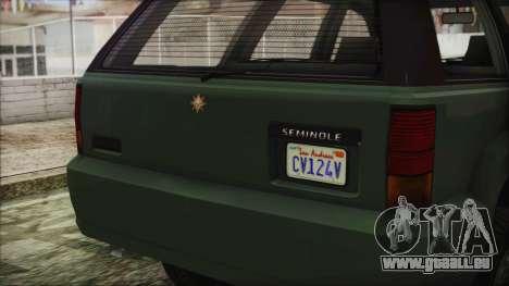 GTA 5 Canis Seminole für GTA San Andreas rechten Ansicht