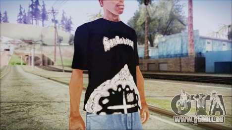 San Andreas T-Shirt pour GTA San Andreas deuxième écran