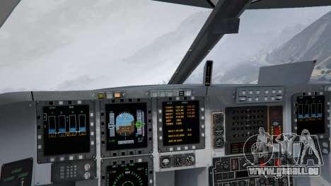 GTA 5 B-2A Spirit Stealth Bomber dixième capture d'écran