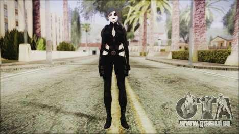 Black Hair Domino from Deadpool pour GTA San Andreas deuxième écran