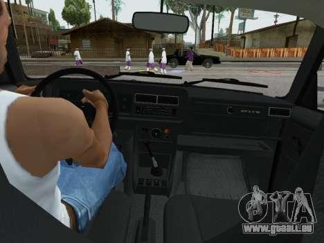 VAZ 2107-107 pour GTA San Andreas vue de côté