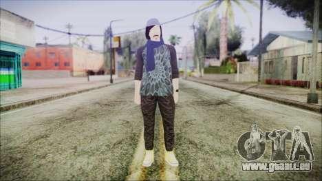 GTA Online Skin 18 pour GTA San Andreas deuxième écran