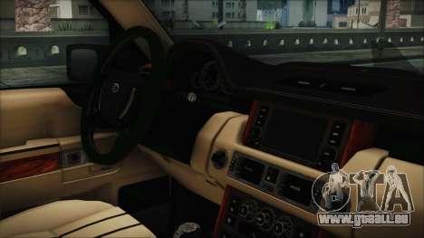 Range Rover Sport für GTA San Andreas rechten Ansicht