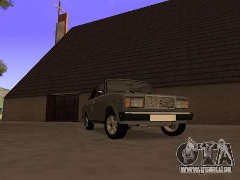 Principauté VAZ 2107 San v0.3 pour GTA San Andreas