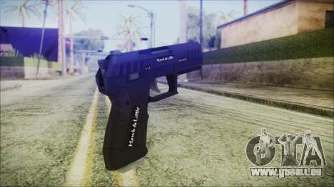 GTA 5 Combat Pistol v2 - Misterix 4 Weapons pour GTA San Andreas deuxième écran