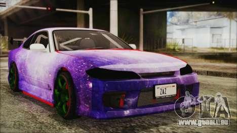 Nissan Silvia S15 Galaxy Drift v1.1 pour GTA San Andreas